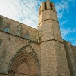 Monastery of Pedralbes in Barcelona, Spain - Foto Stock