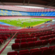 BARCELONA, SPAIN - DECEMBER19: Camp Nou, Stadium of Football Clu - Stock Photo