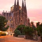 BARCELONA, SPAIN - DECEMBER 14: La Sagrada Familia - the impress — Stock Photo #12236789