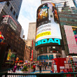 NEW YORK CITY -MARCH 25: Times Square, featured with Broadway Th - Stockfoto