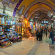 ISTANBUL - JANUARY 25,: the Grand Bazaar, considered to be the o — Stock Photo