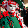 VENICE - MARCH 05: Participant in The Carnival of Venice, an ann — Stock Photo #12236984