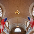 Stock Photo: Ellis Island, New York, USA.