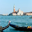 Venice, View of San Giorgio maggiore from San Marco. - Stock Photo