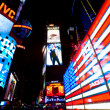 NEW YORK CITY MARCH 25: Times Square, featured with Broadway Theaters and animated LED signs, is a symbol of New York City and the United States, March 25, 2012 in Manhattan, New York City. USA. — Stock Photo