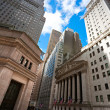 Stock Photo: NEW YORK CITY - MARCH 30: historic New York Stock Exchange i