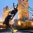 Stock Photo: Tower Bridge, London, UK