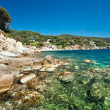 Royalty-Free Stock Photo: Forno beach, Elba island.