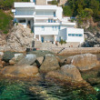 Luxury villa on the coastline. — Stock Photo #12238190