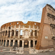 Stock Photo: The Majestic Coliseum, Rome, Italy.