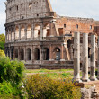 The Majestic Coliseum, Rome, Italy. — Stock Photo #12238221