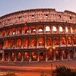 The Majestic Coliseum, Rome, Italy. — Stock Photo #12238357
