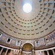 Inside the Pantheon, Rome, Italy. — Stock Photo