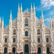 Duomo of Milan, (Milan Cathedral), Italy. — Foto de Stock