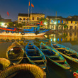 Night shot of Hoi An. Vietnam — Stock Photo