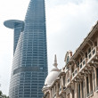 HO CHI MINH CITY - DECEMBER 18: Thre Bitexco Financial Tower is - Stock fotografie