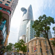 HO CHI MINH CITY - DECEMBER 18: Thre Bitexco Financial Tower is — Stock fotografie