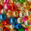 Colorful collection of Christmas Balls  — Stock Photo