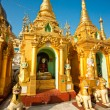 Shwedagon Paya, Yangoon, Myanmar. - Stock Photo