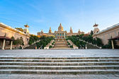 The MNAC, Museu Nacional d'Art de catalunya, Barcelona, spain. — Stock Photo