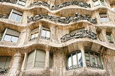 BARCELONA, SPAIN - DECEMBER 16: Casa Mila, or La Pedrera, on Dec — Stock Photo