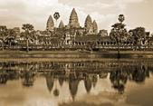 Angkor Wat before sunset, Cambodia. — Stock Photo