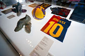 BARCELONA - SPAIN, DECEMBER 19: The FC Barcelona museum inaugura — Stock Photo