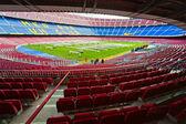 BARCELONA, SPAIN - DECEMBER19: Camp Nou, Stadium of Football Clu — Stock Photo