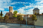 Monastery of Pedralbes in Barcelona, Spain — Стоковое фото