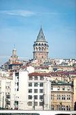 Galata tower, Turkey. — Zdjęcie stockowe
