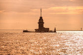 The Maiden's Tower in Istanbul — Stock Photo