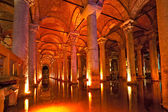 Basilica Cistern, Istanbul, Turkey. — Stock Photo
