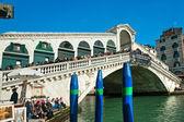 Venice, Rialto Bridge. — Stock Photo
