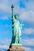 Statua wolności. new york, stany zjednoczone ameryki. — Zdjęcie stockowe