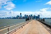 Manhattan, new york city. verenigde staten. — Stockfoto