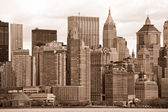 Manhattan, New York City. USA. — Stock Photo