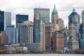 Manhattan, new york city. verenigde staten. — Stockfoto