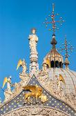 Catedral de São Marcos em Veneza, Itália — Fotografia Stock