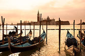 Venice, View of San Giorgio maggiore from San Marco. — Stock Photo
