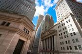 NEW YORK CITY - MARCH 30: The historic New York Stock Exchange i — Stock Photo