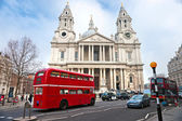 St Paul Cathedral, London, UK. — Zdjęcie stockowe