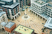 Paternoster Square, next to St Paul's Cathedral in the City of L — Stock Photo