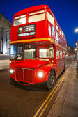 Old double-decker bus, London. — Stock Photo