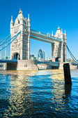 Tower bridge, londen, verenigd koninkrijk — Stockfoto