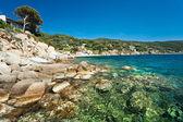 Forno beach, Elba island. — Stock Photo