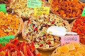 Coleção de frutos secos — Foto Stock