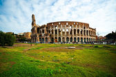 The Majestic Coliseum Amphitheater, Rome, Italy. — Stock Photo