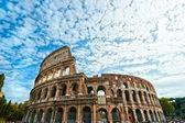 Majestátní kolosea, řím, itálie. — Stock fotografie