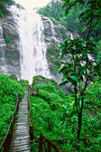 Waterfall in north thailand. — Stock Photo