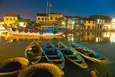 Tir de nuit d'hoi an vietnam — Photo